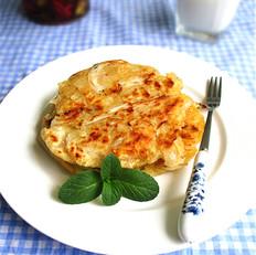 银鱼泡菜饼