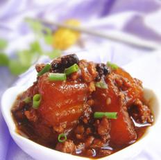豆豉肉末烧冬瓜