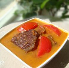 番茄炖牛腱子