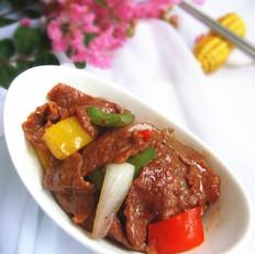彩椒洋葱牛肉片