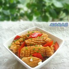 蚝油鱿鱼花