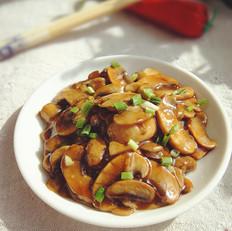 蚝油干煸蘑菇