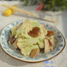 干煸花菜香菇