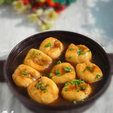 蚝油油豆腐塞肉