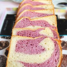 紫薯双色土司