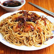 上海开洋葱油拌面