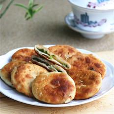 上海猪油葱花饼