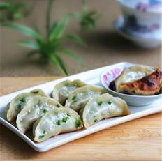 河南荠菜猪肉锅贴