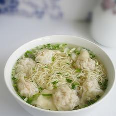 广东鲜虾云吞面
