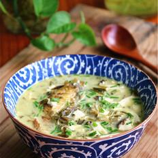 雪菜豆腐黄鱼汤