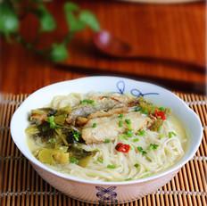 酸菜黄鱼面