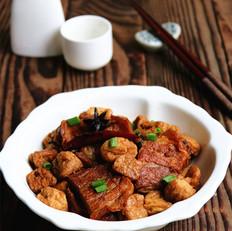 油豆腐烧走油肉