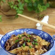 香菇猪肉笋片