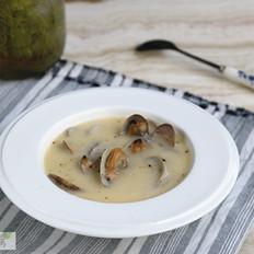 咸蛋黄冬瓜蛤蜊浓汤