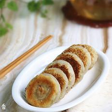 山药豆沙糯米饼