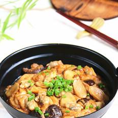 鲜菇面筋蛤蜊煲