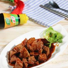 蚝油牛肉粒