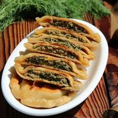 杂粮茴香鲜肉饼