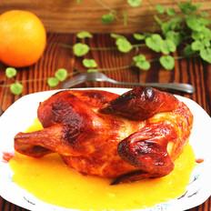 香橙奥尔良烤鸡