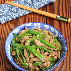 蚝油杭椒牛肉