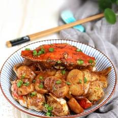酱香年糕螃蟹