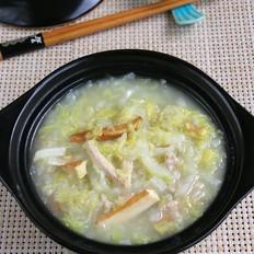 白菜豆干肉丝