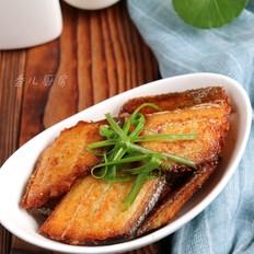 干煎爆腌带鱼
