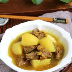 咖喱牛肉土豆汤