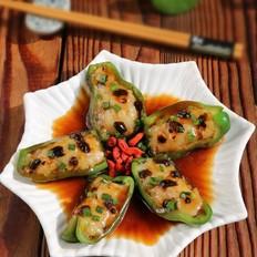 虾滑醸青椒