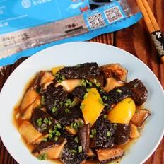 蚝油红极参香菇