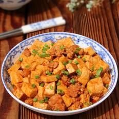 酱烧肉末豆腐