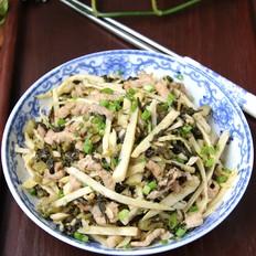 酸菜猪肉笋丝