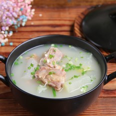 咸肋排冬瓜汤