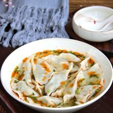 鸡毛菜黑木耳猪肉饺子