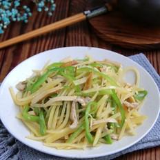 土豆炒三丝