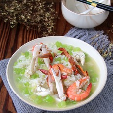 香芹海鲜泡饭
