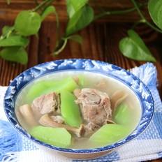 鹿茸菇排骨莴笋汤