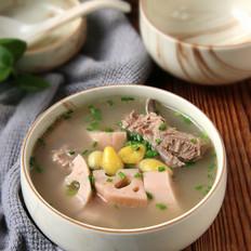 莲藕白果猪骨汤