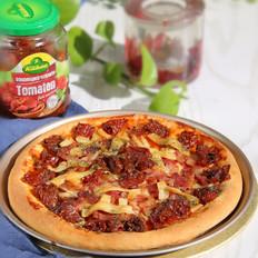 蛤蜊腌番茄披萨的做法