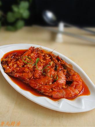 茄汁斑节虾的做法