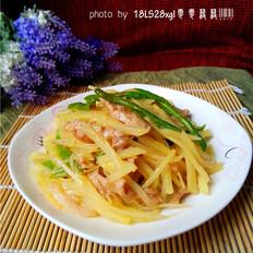 尖椒土豆肉丝