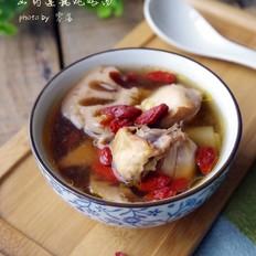 山药莲藕鸡汤