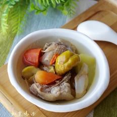 板栗雞湯的做法