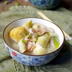 培根竹笋汤