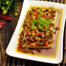 肉末蒸豆腐