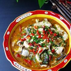 鲜香美味酸菜鱼