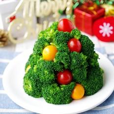 芋头沙拉圣诞树