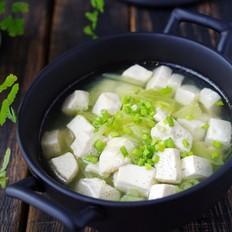 砂锅豆腐白菜汤
