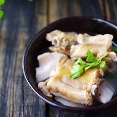 腊排骨莲藕汤