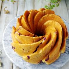 蜂蜜紫薯面包